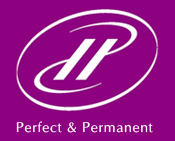 Perfect & Permanent, Brautstyling · Make-up Wiesloch, Logo