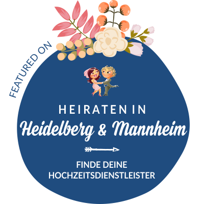 Featured auf Hochzeit & Heiraten in Heidelberg, Mannheim, Rhein-Neckar